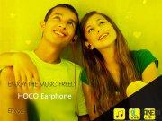 خرید هندزفری هوکو EPV02 Wire Headphone مارک Hoco