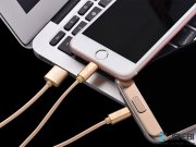 قیمت کابل سه پورت هوکو Hoco X2 3 In 1 Knitted Charging Cable