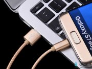 جانبی کابل سه پورت هوکو Hoco X2 3 In 1 Knitted Charging Cable