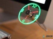 پنکه و نمایشگر ساعت USB Clock Fan