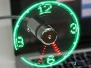 جانبی پنکه و نمایشگر ساعت USB Clock Fan