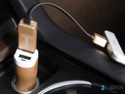فروش شارژر فندکی هوکو Hoco UC201 Car Charger