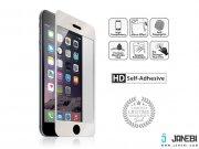 محافظ صفحه نمایش شیشه ای نقره ای نزتک Naztech Silver Tempered Glass Screen Protector for iPhone 6/6s