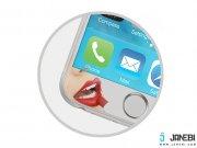 خرید محافظ صفحه نمایش شیشه ای نقره ای نزتک Naztech Silver Tempered Glass Screen Protector for iPhone 6/6s
