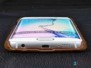 فروش قاب چرمی پییر کاردین Pierre Cardin Genuine Leather For Samsung Galaxy S6 edge