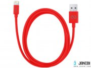 خرید کابل لایتنینگ نزتک Naztech Lightning MFi 1.2m Charge and Sync Cable