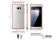 قیمت قاب محافظ شیشه ای اسپیگن Spigen Crystal Shell Case For Samsung Galaxy Note 7