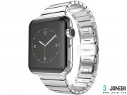 فروش عمده بند استیل هوکو اپل واتچ  Hoco Apple Watch METAL WATCHBAND 2 POINTERS 42mm