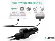 CC-T7 Dual Port Car Charger with Quick Charge 3.0