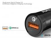 فروشگاه آنلاین شارژر فندکی با قابلیت شارژ سریع آکی Aukey CC-T10 Car Charger with Quick Charge 3.0