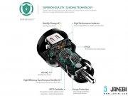 فروشگاه آنلاین شارژر فندکی دو پورت با قابلیت شارژ سریع آکی Aukey CC-Y2 Dual Port Car Charger with Quick Charge 2.0