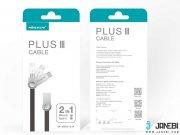 بسته بندی کابل دو سر پلاس سه تایپ سی و میکرو یو اس بی نیلکین NILLKIN Plus Ⅲ Cable Micro to Type-C