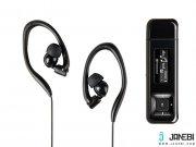رنگ سیاه پخش کننده موسیقی ترنسند Transcend Mp330 Digital Music Player 8GB
