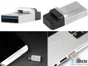 فلش مموری ترنسند برای گوشی و لپ تاب USB3 32GB  JF880 OTG
