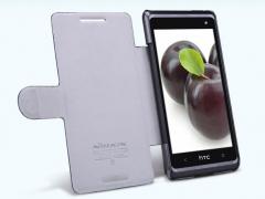 کیف چرمی  HTC Desire 606W/600