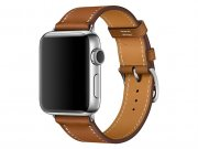 اپل واچ سری 2 مدل Apple Watch 38mm Hermes Fauve Barenia Leather Single Tour