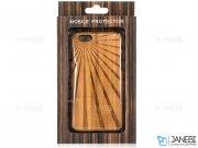 محافظ چوبی طرح خورشید آیفون 6