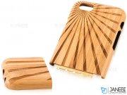 قاب محافظ چوبی طرح خورشید آیفون 6