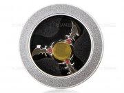 اسپینر فلزی سه پره ای طرح شوریکن Fidget Spinner Metal Shuriken