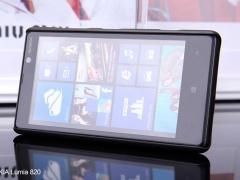 قاب نیلکین  NOKIA Lumia 820