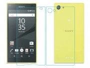 محافظ صفحه نمایش شیشه ای پشت رو  Sony Xperia Z5 Compact