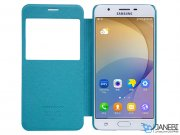 کیف محافظ نیلکین سامسونگ Nillkin Sparkle Leather Case Samsung On7 2016