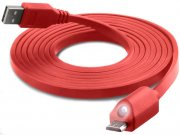کابل میکرو یو اس بی نزتک Naztech LED Micro USB Charge & Sync Cable 1.8M