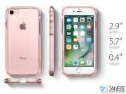 قاب محافظ اسپیگن آیفون Spigen Crystal Shell Case Apple iPhone 7