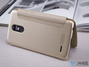 کیف محافظ نیلکین ال جی Nillkin Sparkle Leather Case LG Stylus 3 M400DK