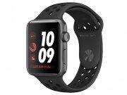 اپل واچ سری 3 مدل Apple Watch 38mm GPS Space Gray Aluminum Case Anthracite/Black Nike Sport Band