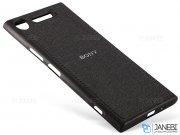 قاب محافظ طرح پارچه ای سونی Protective Cover Sony Xperia XZ1