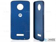 قاب محافظ طرح پارچه ای موتورولا Protective Cover Motorola Moto Z