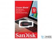 فلش مموری سندیسک Sandisk Cruzer Blade USB 2.0 Flash Memory 32GB