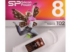 قیمت فلش مموری سیلیکون پاور Silicon Power Touch T02 8GB