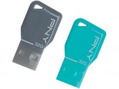 خرید فلش مموری پی ان وای  PNY key attache 32GB