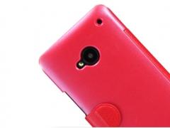 خرید اینترنتی کیف چرمی مدل01 HTC ONE / M7 مارک Nillkin