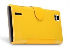 خرید عمده کیف چرمی Huawei Ascend P2 مارک Nillkin