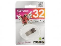 قیمت فلش مموری سیلیکون پاور Silicon Power X10 Mobile OTG 32GB