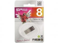 قیمت فلش مموری سیلیکون پاور Silicon Power X10 Mobile OTG 8GB