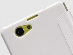 فروش کیف چرمی Sony Xperia Z1 Compact مارک Nillkin