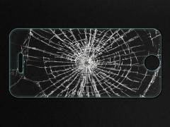 خرید آنلاین محافظ صفحه نمایش شیشه ای iphone 5s مارک Nillkin