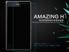 فروش محافظ صفحه نمایش شیشه ای Sony Xperia Z1 مارک Nillkin