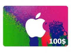 گیفت کارت 100 دلاری آیتیونز Apple iTunes 100$ Gift Card