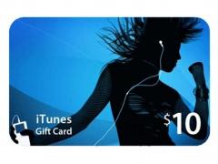 گیفت کارت 10 دلاری آیتیونز Apple iTunes 10$ Gift Card