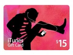 گیفت کارت 15 دلاری آیتیونز Apple iTunes 15$ Gift Card
