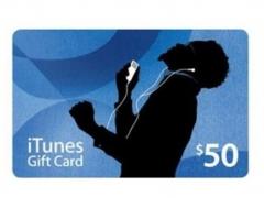 گیفت کارت 50 دلاری آیتیونز Apple iTunes 50$ Gift Card