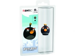 قیمت فلش مموری  Emtec Angry Birds Black 8GB