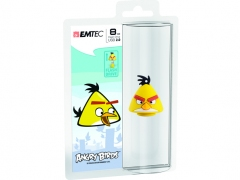 قیمت فلش مموری  Emtec Angry Birds Yellow 8GB
