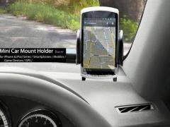 خرید اینترنتی پایه نگهدارنده گوشی موبایل Capdase Racer Mini Car Mount Holder