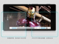 فروش محافظ صفحه نمایش شیشه ای Sony Xperia M2